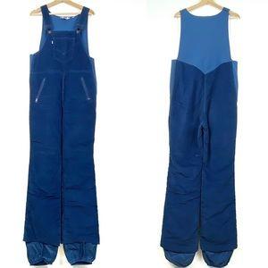 Vintage LEVIS Bib Ski Pants Overalls Large Blue o6